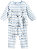 First Impressions 2-Pc. Bear T-Shirt & Pants Set, Baby Boys (0-24 months), Only at Macy's