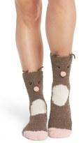 PJ Salvage Women's Deer Plush Socks