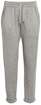Brunello Cucinelli Cotton-Silk Sweatpants