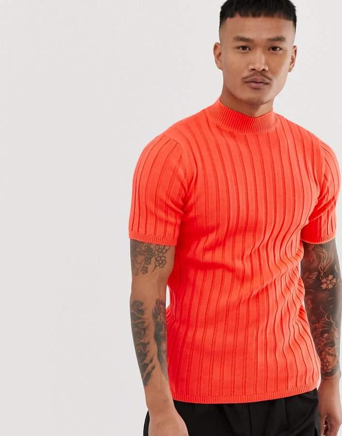 b3bd58b3 Mens Ribbed Knit Tee Shirts - ShopStyle