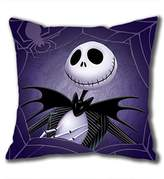 iCustomonline The Nightmare Before Christmas Square Cloth Pillow Cushion Case in 40*40CM / 16*16Inch