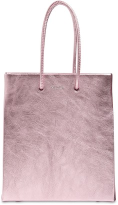 Medea Short Metallic Leather Bag
