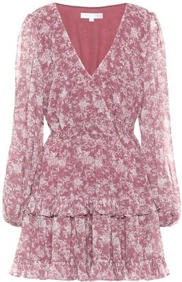 Caroline Constas Fai floral stretch-cotton minidress