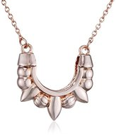 Pamela Love Mini Tribal Spike Pendant with Chain of Length 44cm - Rose Gold