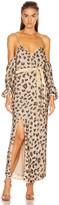 retrofete Adi Dress in Nude Leopard | FWRD