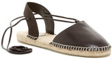 Australia Luxe Collective Morongo Lace-up Espadrille Flat