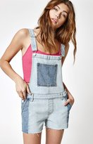 PacSun Dazed Blue Pieced Denim Shortalls
