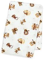 Trend Lab Safari Rock Band Deluxe Flannel Swaddle Blanket