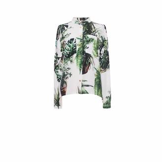 Tomcsanyi Plants Print Shirt
