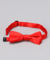 American Exchange Boys' Bow Ties - American Exchange Red Bow Tie