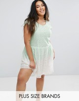 Diya Lace Skater Dress