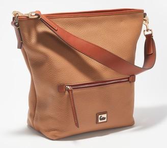 Dooney & Bourke Camden Pebble Leather Hobo