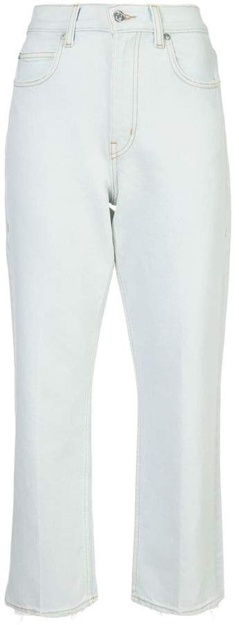 Proenza Schouler PSWL Cropped Straight Jeans
