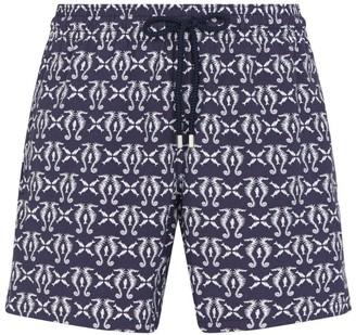 Vilebrequin Seahorse Print Swim Shorts