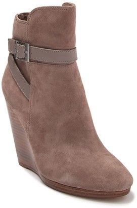 Charles by Charles David Hades Suede Wedge Bootie