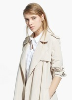 Mango Outlet Zip Trench