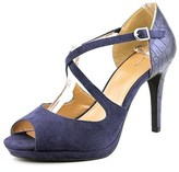 Style&Co. Style & Co Simmone Open Toe Synthetic Platform Heel.
