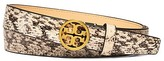 "Tory Burch 1"" Reversible Exotic Logo Belt"