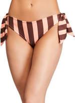 Johanna Ortiz Kilele Striped Side-Tie Bikini Bottom