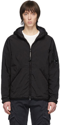 C.P. Company Black CR-L Medium Hooded Jacket