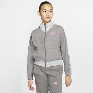 Nike Big Kids (Girls) Full-Zip Hoodie