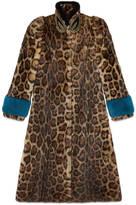 Gucci Murmel fur coat