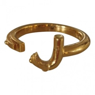 Louis Vuitton Alphabet LV&ME Gold Gold plated Rings