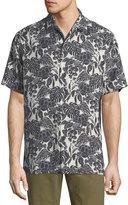 Tommy Bahama Turtle Cove Short-Sleeve Silk Shirt