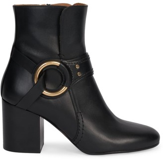 Chloé Demi Leather Ankle Boots