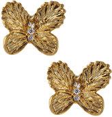 Tai CZ Butterfly Stud Earrings
