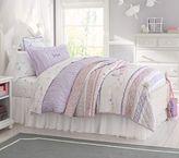 Pottery Barn Kids Tulle Bed Skirt, White, Twin