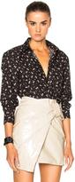 Givenchy Cuban Fit Floral Print Shirt