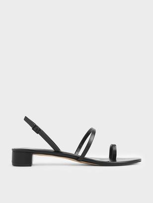 Charles & Keith Toe Loop Sandals