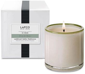 Lafco Inc. Classic 6.5 oz Candle - Feu De Bois white/gray