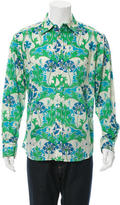 Robert Graham Floral Print Button-Up Shirt