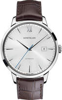 Montblanc 111580 Meisterstück Heritage stainless steel automatic watch