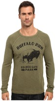 Lucky Brand Buffalo Run Graphic Tee