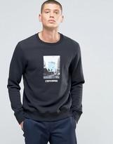 Converse Graphic Sweatshirt In Black 10002151-a01