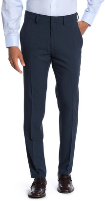 "Kenneth Cole Reaction Heather Tic Stretch Suit Separates Trousers - 29-34"" Inseam"