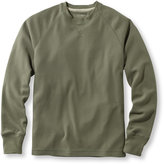 L.L. Bean Unshrinkable Waffle Shirt, Slightly Fitted Long-Sleeve Crewneck