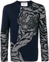 Tiger Crew Neck Sweater