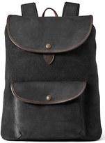 Filson Men's 'Rugged' Suede Backpack - Brown