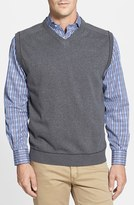 Cutter & Buck Men's Big & Tall 'Broadview' V-Neck Sweater Vest