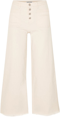 Elizabeth and James Carmine Mid-rise Wide-leg Jeans