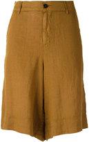 Barena linen shorts - women - Linen/Flax - 44
