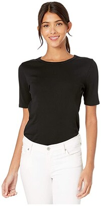 J.Crew Slim Perfect Fit T-Shirt (Black) Women's Clothing