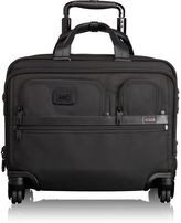 Tumi 4 Wheeled Deluxe Brief with Laptop Case