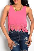 Adore Clothes & More Lace Tank Top