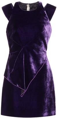 Roland Mouret Exclusive to mytheresa.com a Torrens velvet dress