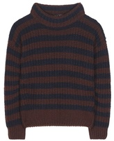 Loro Piana Ciambella Davenport Striped Cashmere Sweater